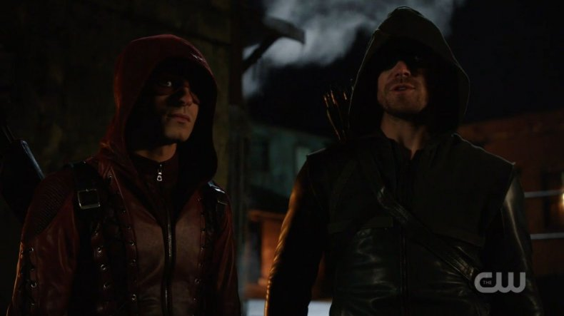 arrow, season, 7, colton, haynes, roy, harper, thea, thanatos, guild cast, release date cw