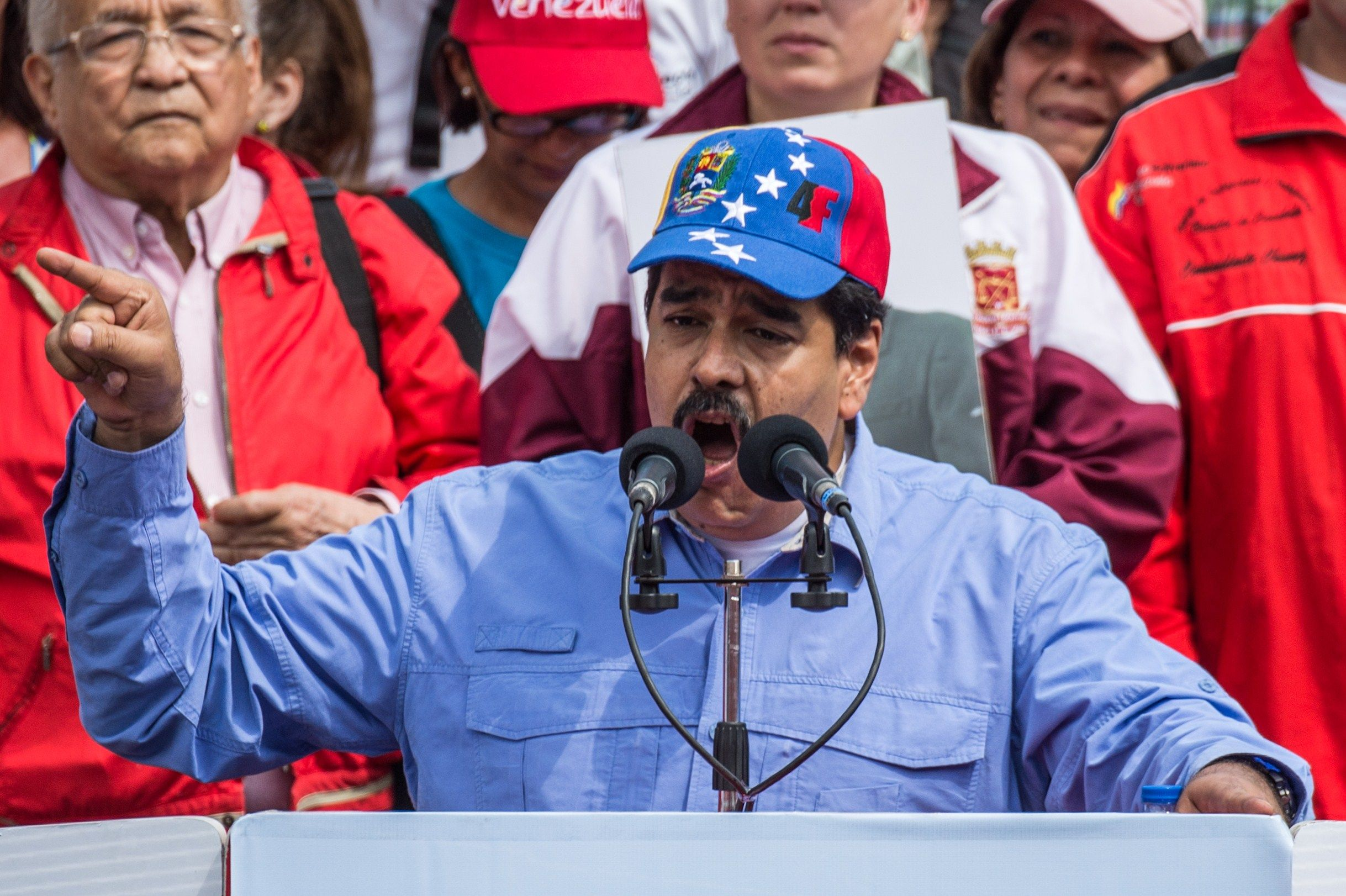 nicolasMaduro-Rally