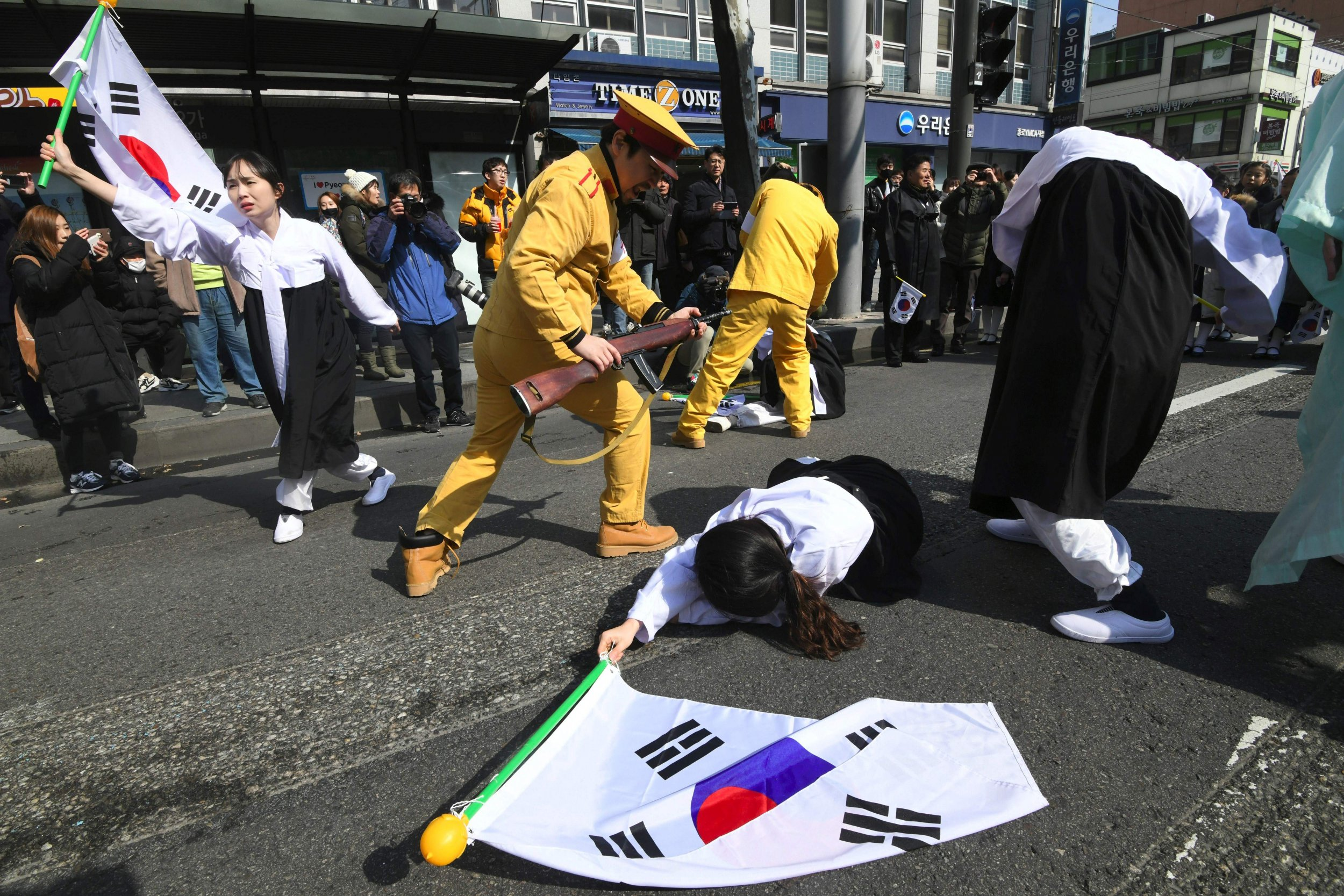 South Korea and Japan Clash over 'Comfort Women' Forced ... Slavery In The South