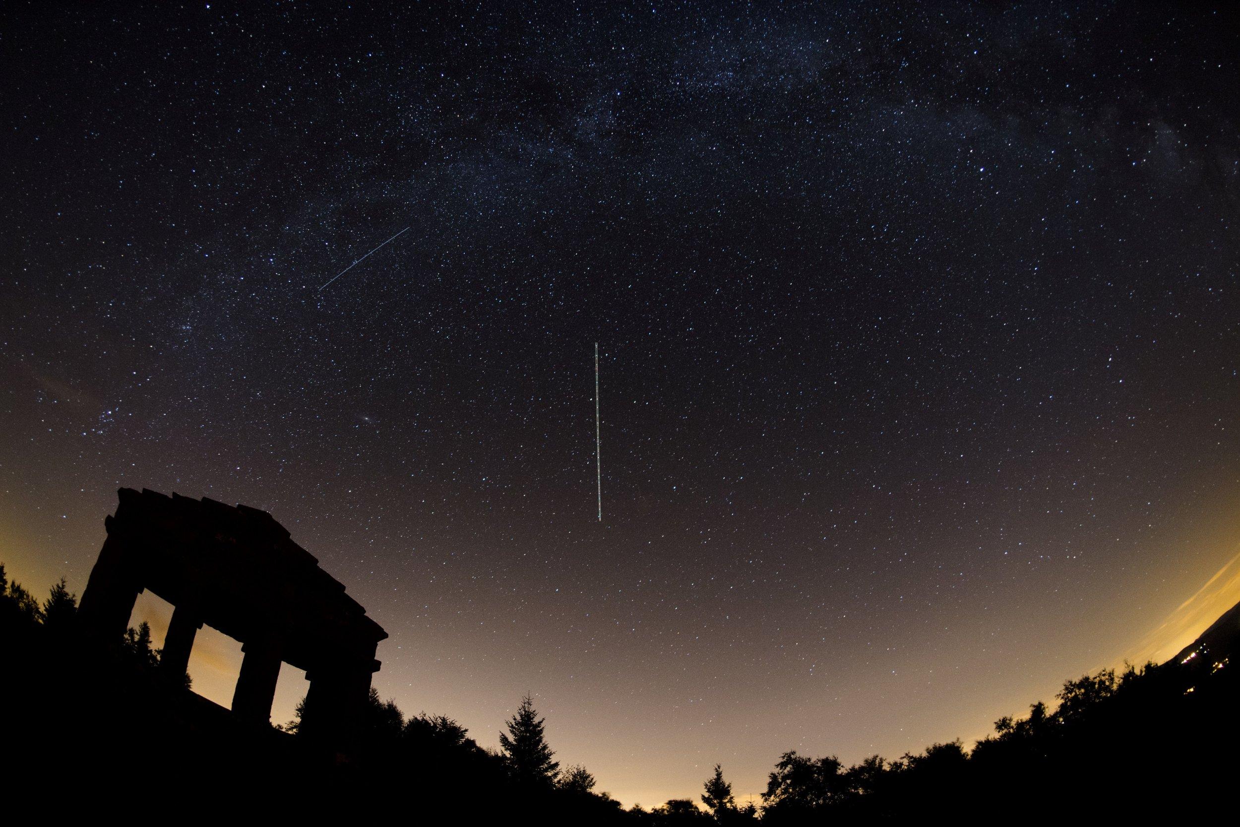 france night sky