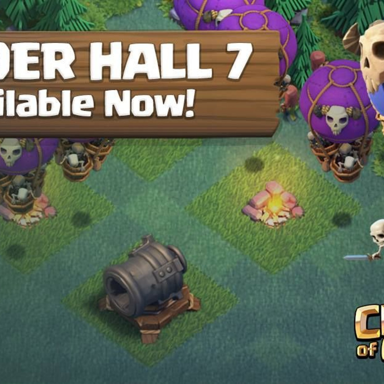 Clash Of Clans' Builder Hall 8 Adds New Troops in Spring