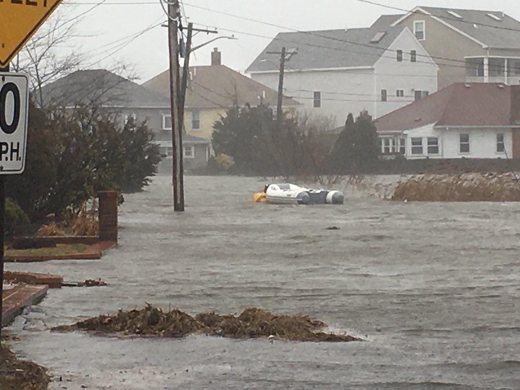 Quincy MA flood
