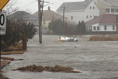 Quincy MA flood