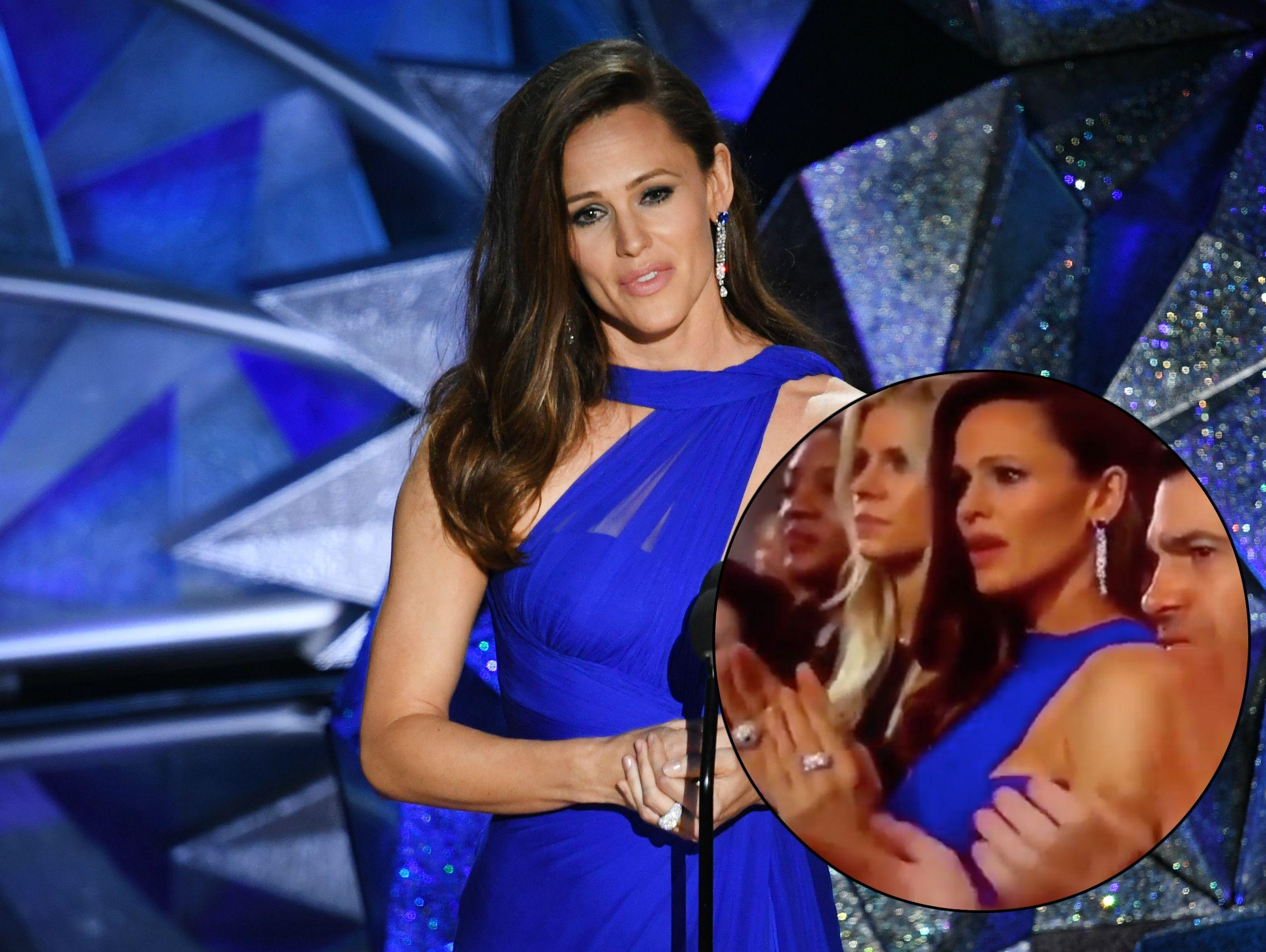 Jennifer Garner goes viral at Oscars