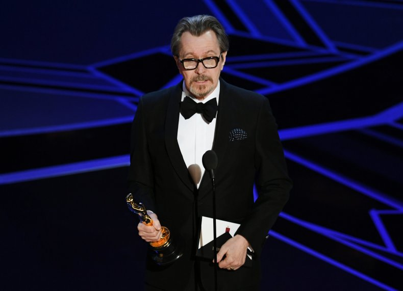 Gary Oldman wins best actor at the Oscars