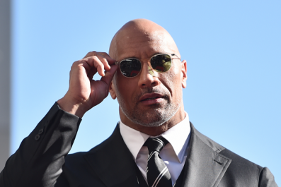 The Rock Proudly Accepts 2018 Razzie Award For 'Shit Sandwich' Baywatch Movie
