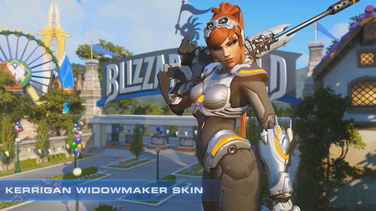 Widowmaker Starcraft Skin Just Part Of Blizzard S 20th