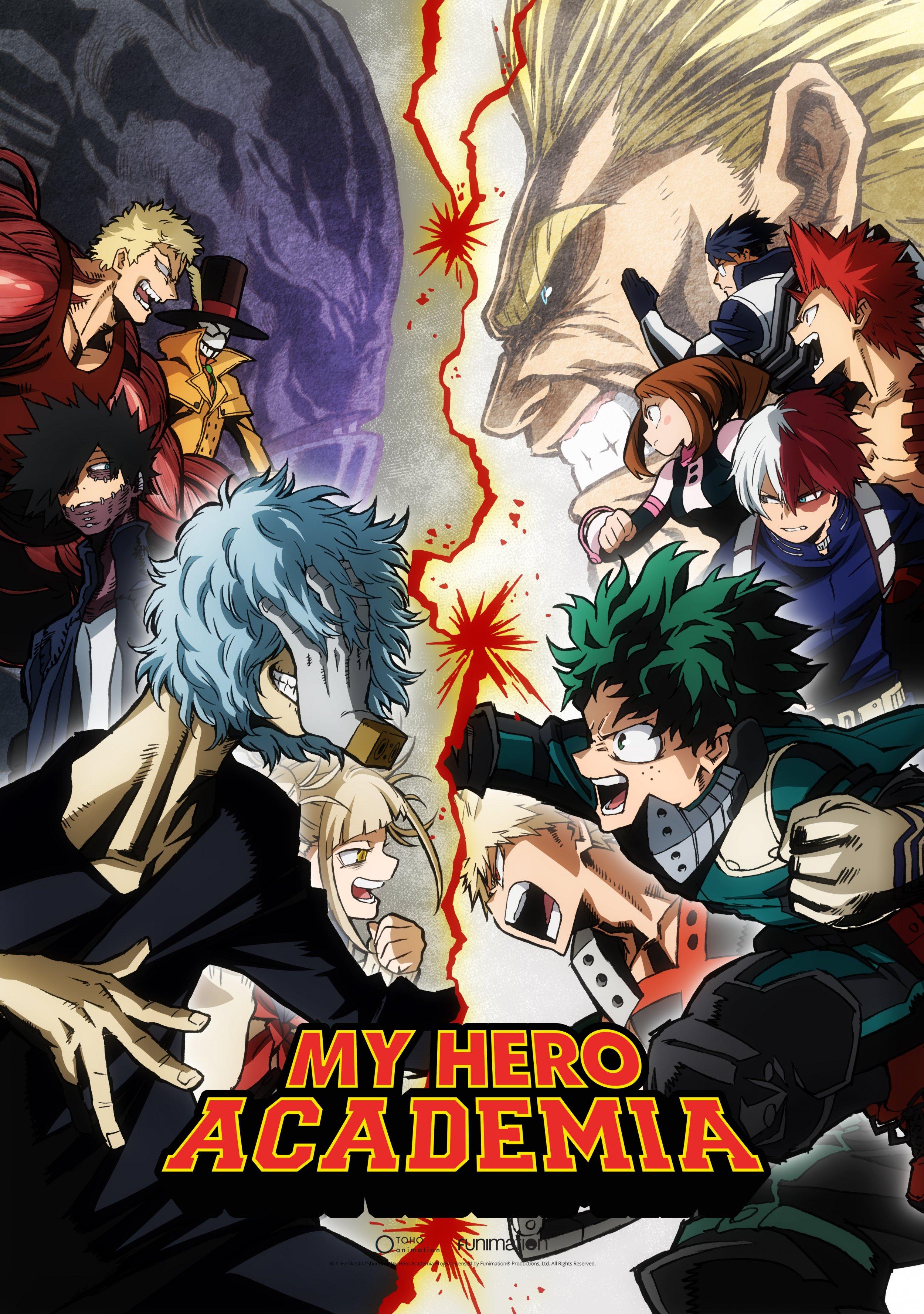 'My Hero Academia' Season 3 to Premiere April 7 on Funimation