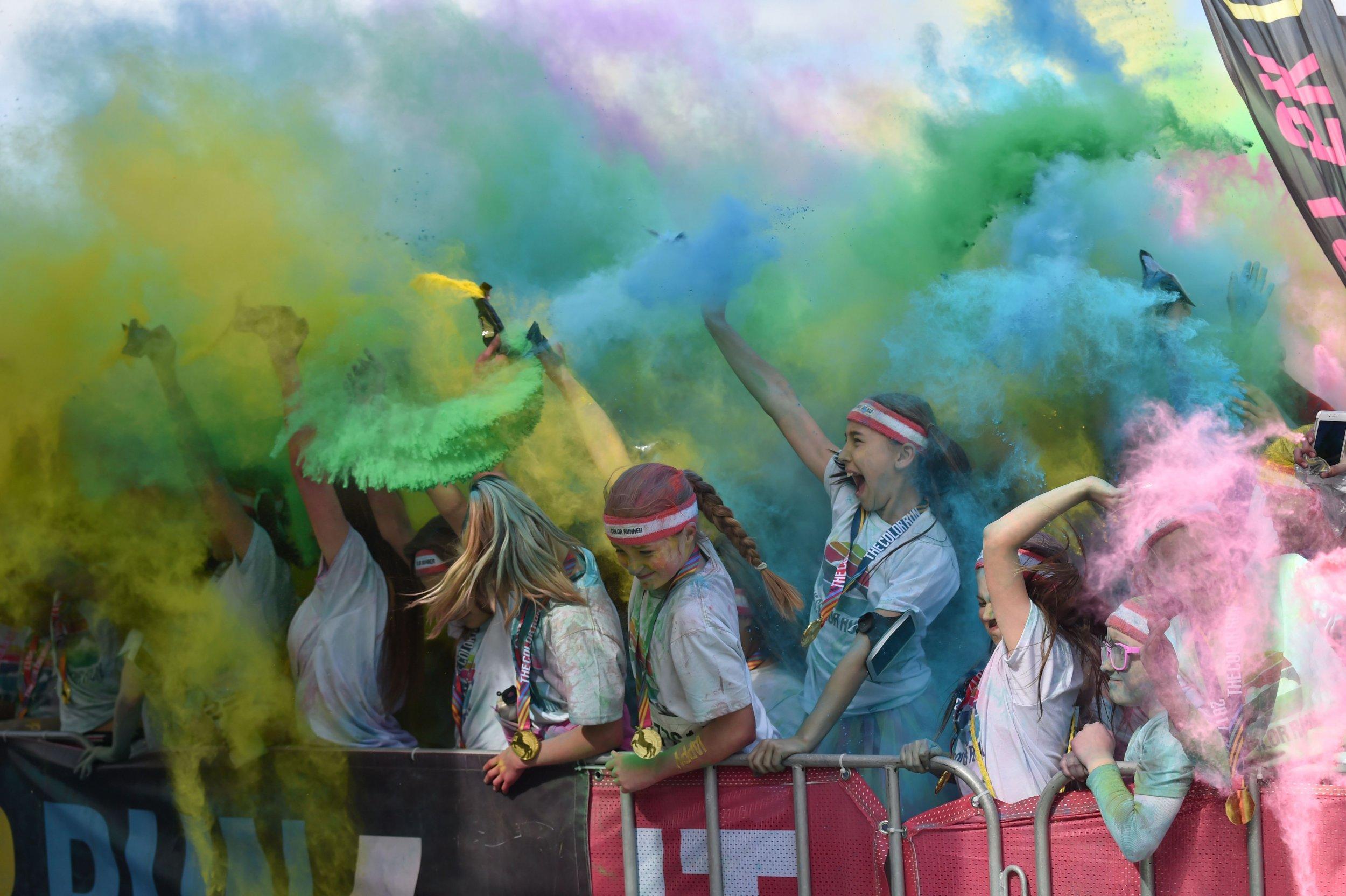 color run paint