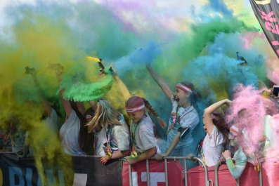 color run paint