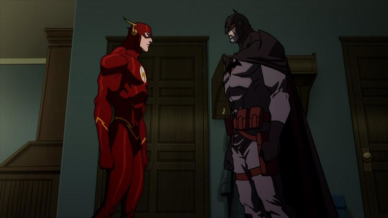 the flash flashpoint release date movie animated