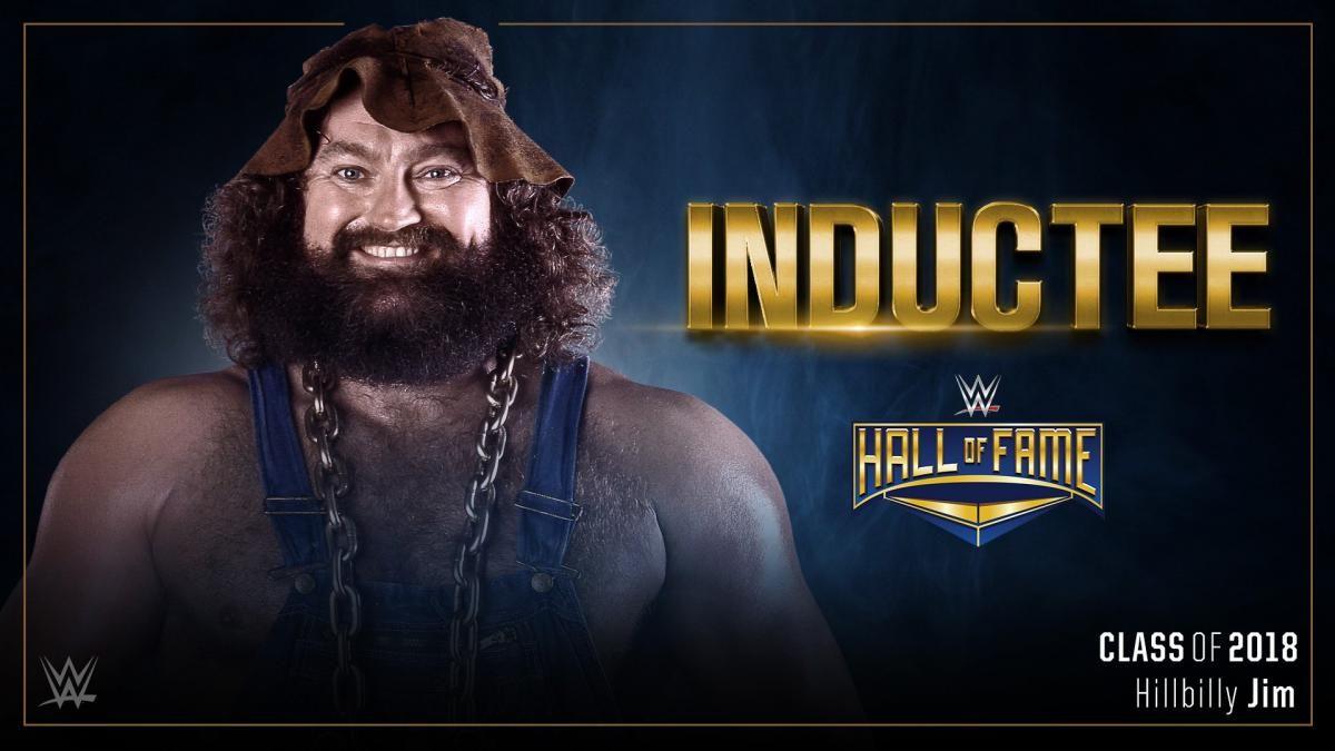 hillbilly jim wwe hall of fame induction