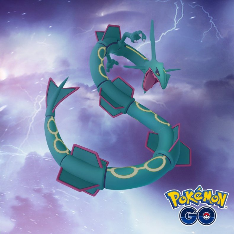 rayquaza pokemon go