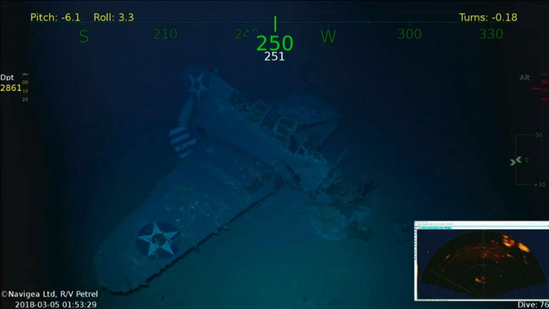 USS Lexington wreck