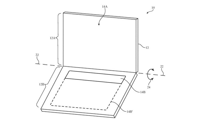 Apple patent keyboard macbook pro
