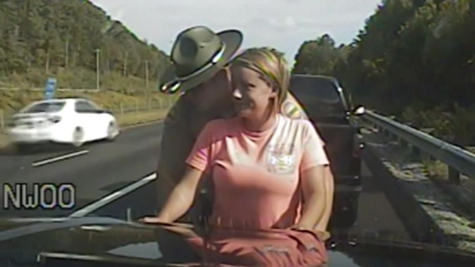 Pulled Over On Highway : Woman says cop groped her pulled over twice just