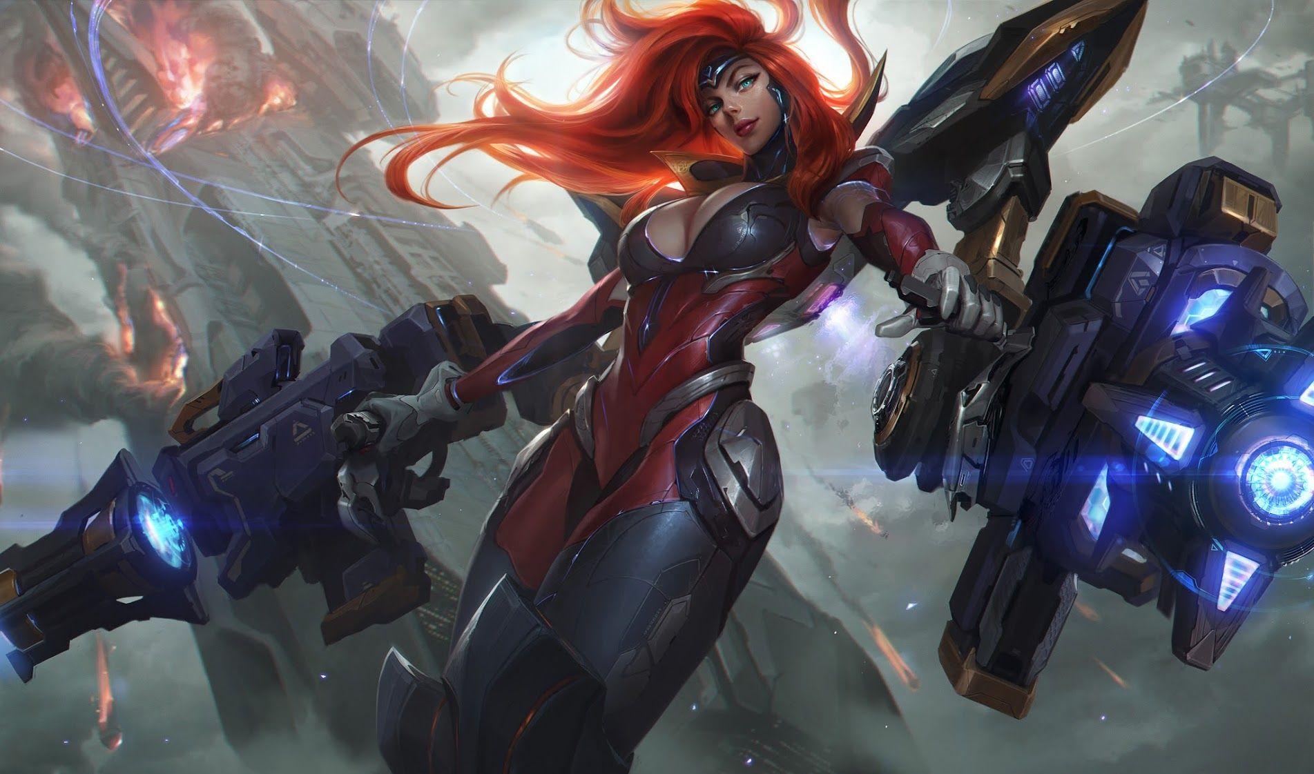 League of Legends' Gun Goddess Miss Fortune Ultimate Skin Revealed
