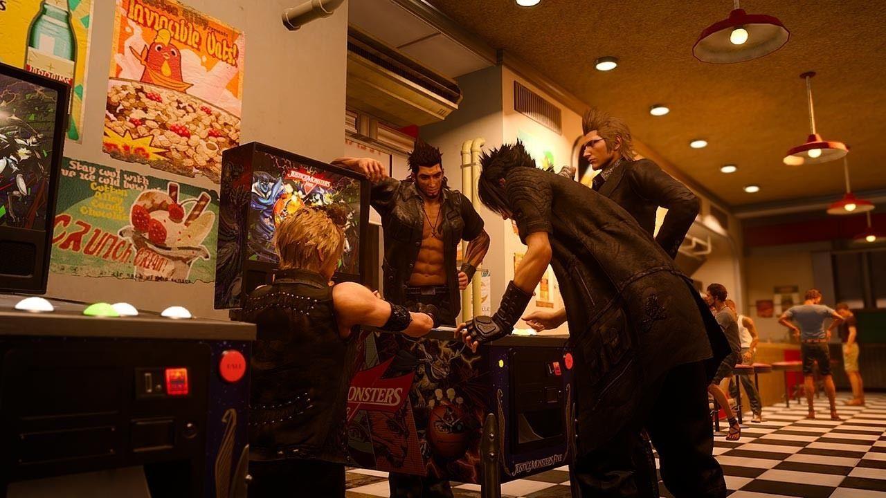 final fantasy xv windows pc justice monsters five rewards