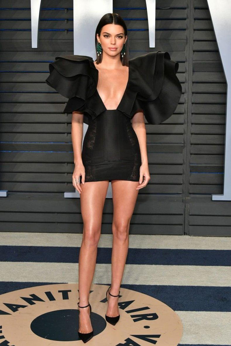 kendall jenner oscars after party