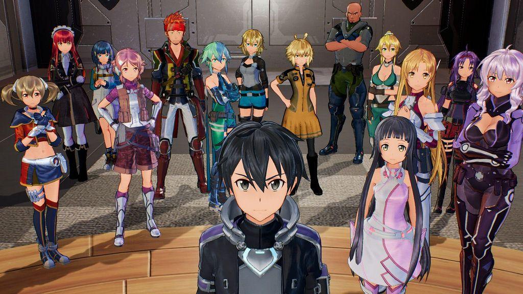 Sword Art Online Fatal Bullet Dlc Includes Characters