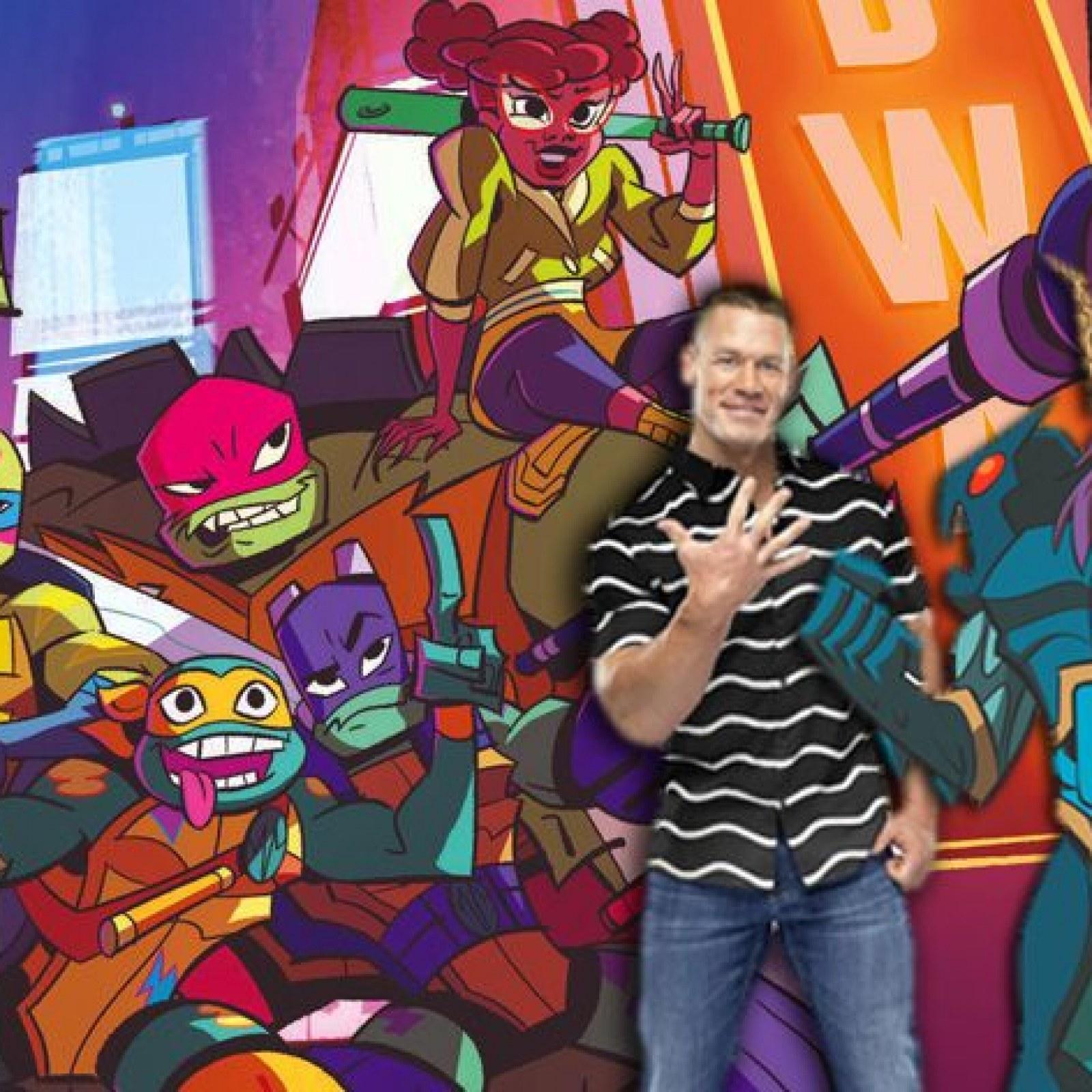 John Cena S Rise Of The Teenage Mutant Ninja Turtles Character Revealed