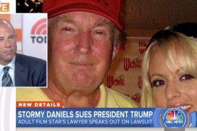 "Stormy Daniels' attorney says ""yes"" she had affair with Trump"