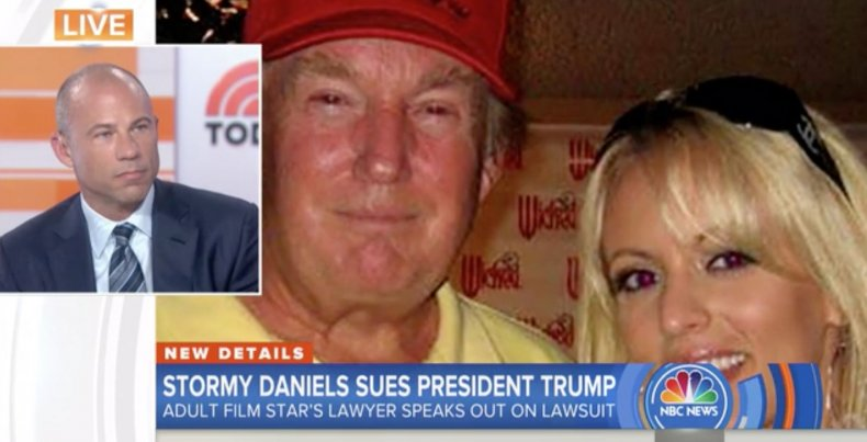 """Stormy Daniels' attorney says """"yes"""" she had affair with Trump"""