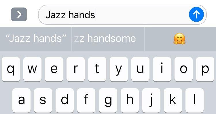 jazz hands emoji