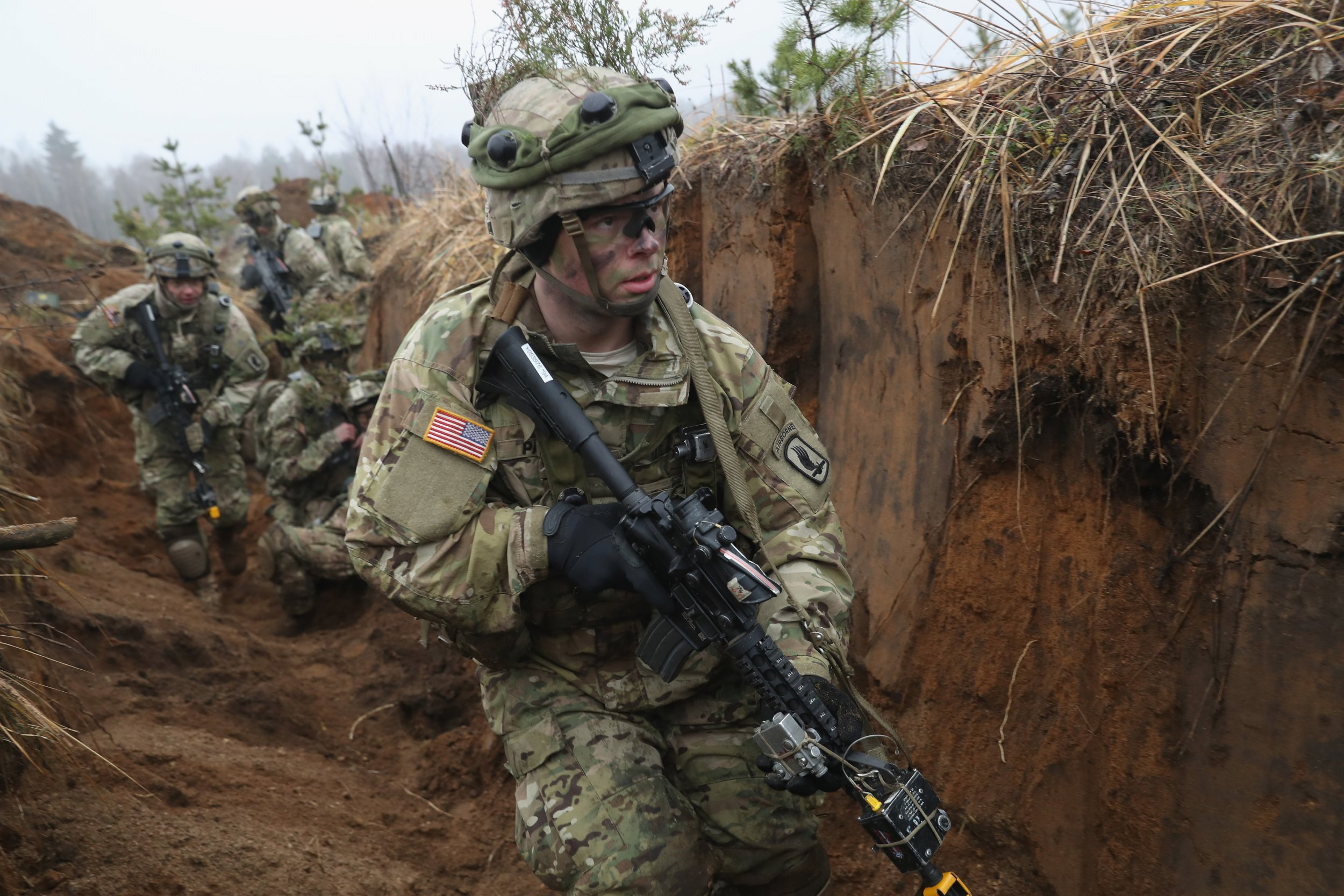 GettyImages-625533118 US military Lithuania NATO