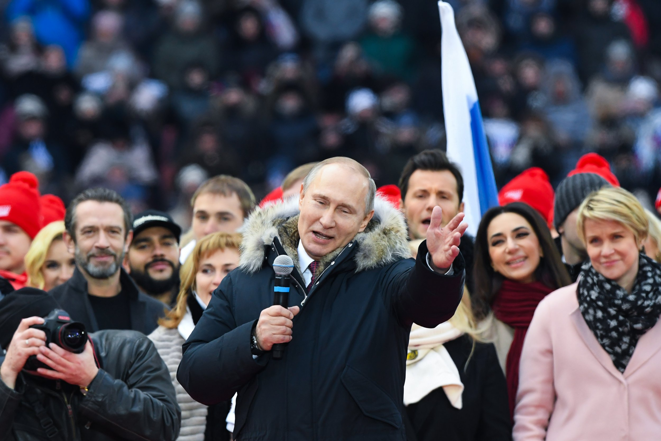 Russian President Putin Says America Is Destroying Itself, but It's Not Trump's Fault