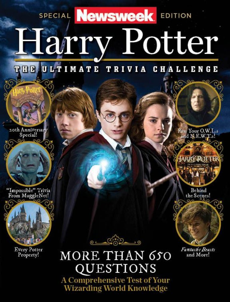 Harry Potter Trivia Cover
