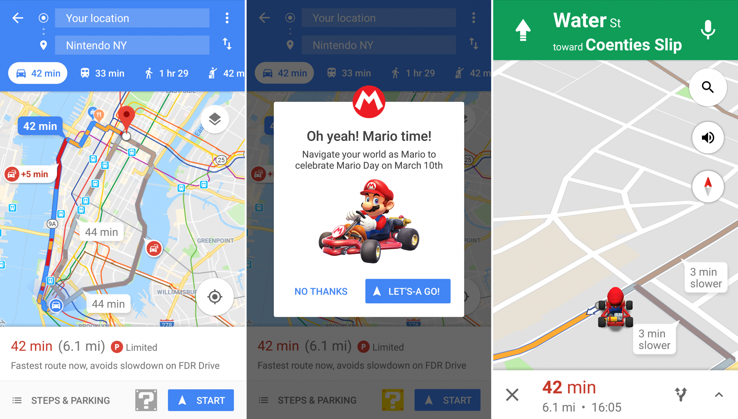 google maps kart Google Maps Mario Kart: How to Get Nintendo Navigation