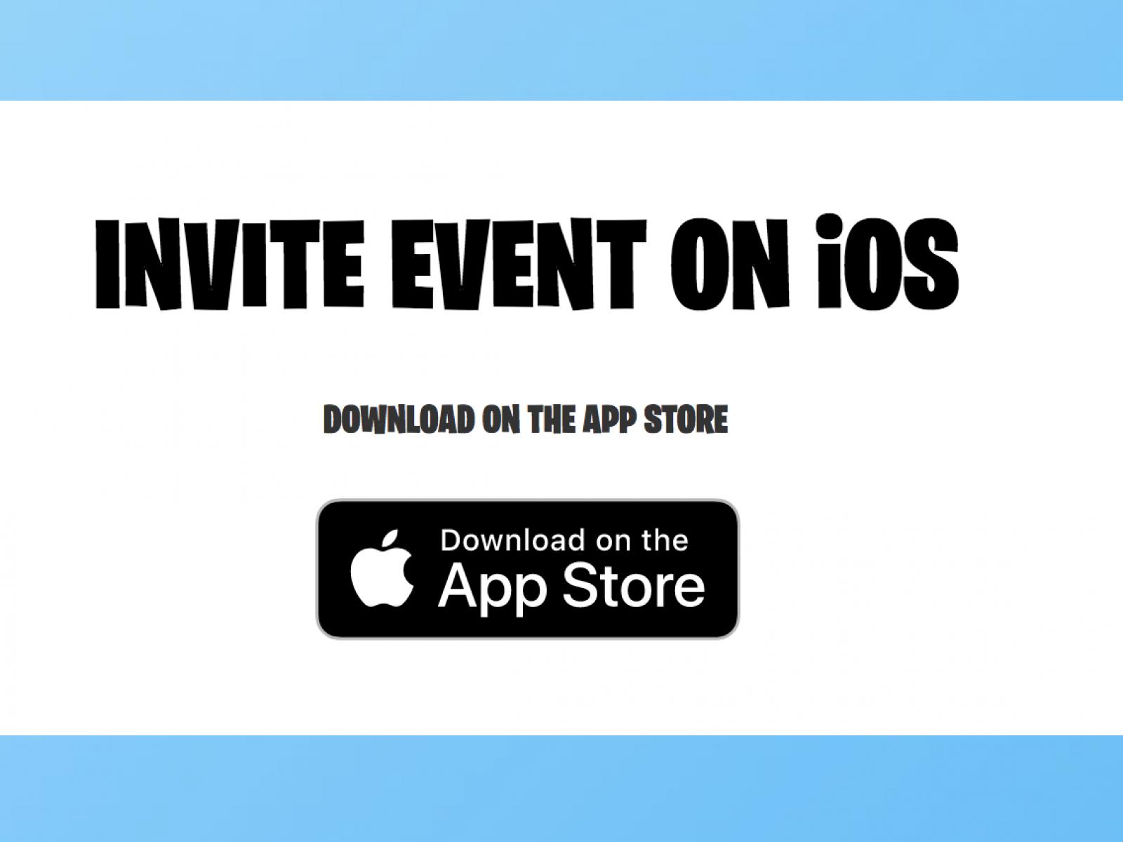 fortnite ios invite code epic games