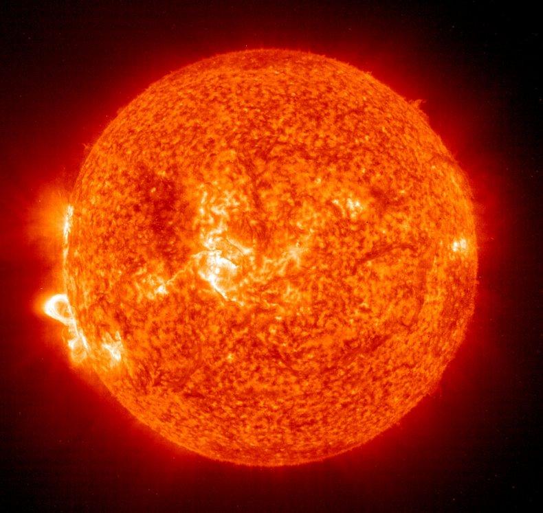 2003 solar flare record
