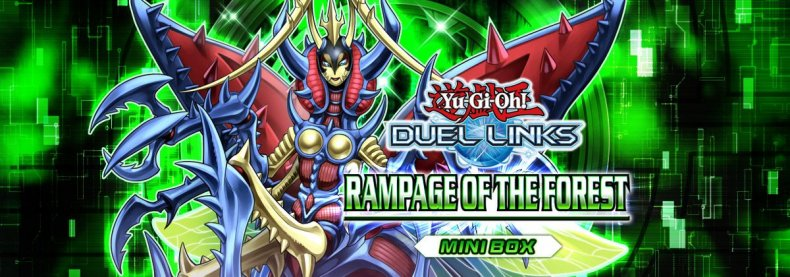rampage of the forest yugioh duel links