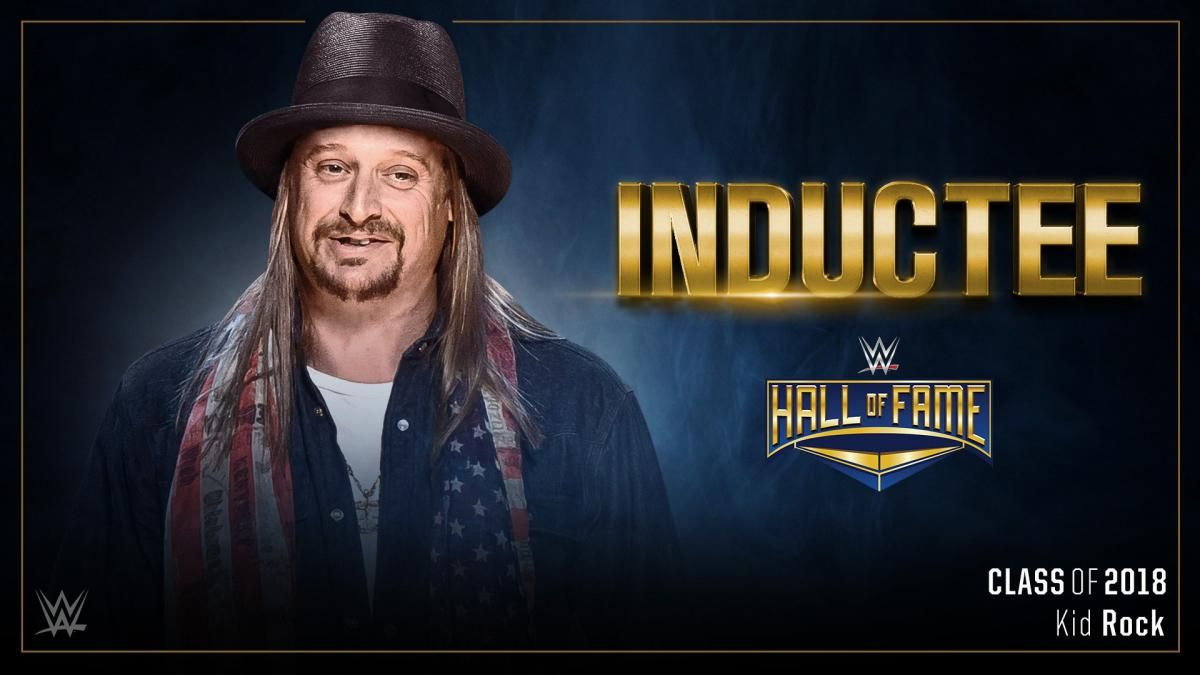 Kid Rock On His WWE HOF Induction, Drew McIntyre