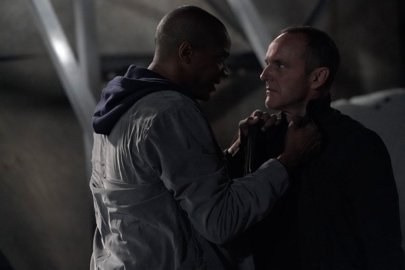 avengers agents of shield coulson death 100th episode deathlok