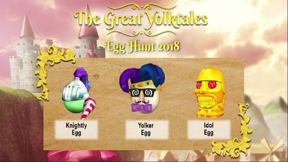 Roblox egg hunt 2018 all eggs list