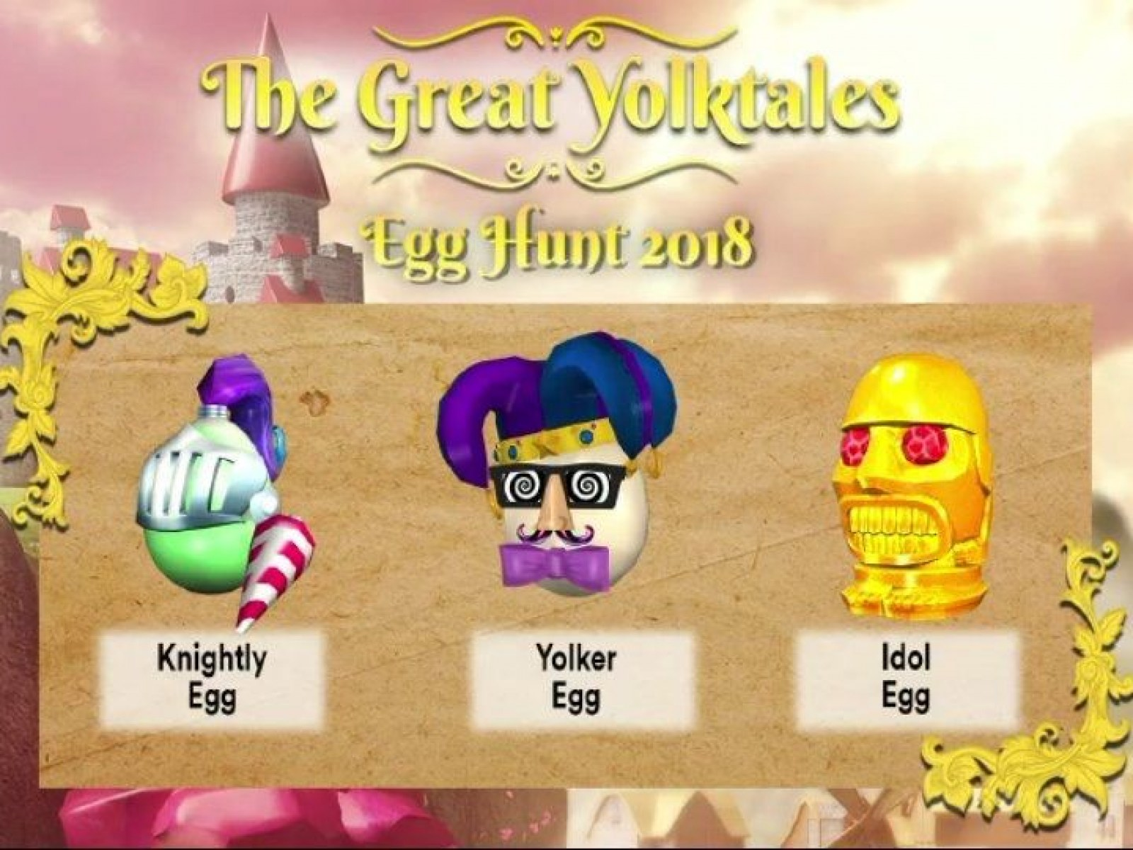 Roblox' Egg Hunt 2018: All Eggs, Hats, Badges And Other Items Leaked