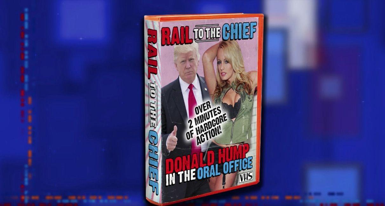Stephen Colbert jokes about Trump sex tape
