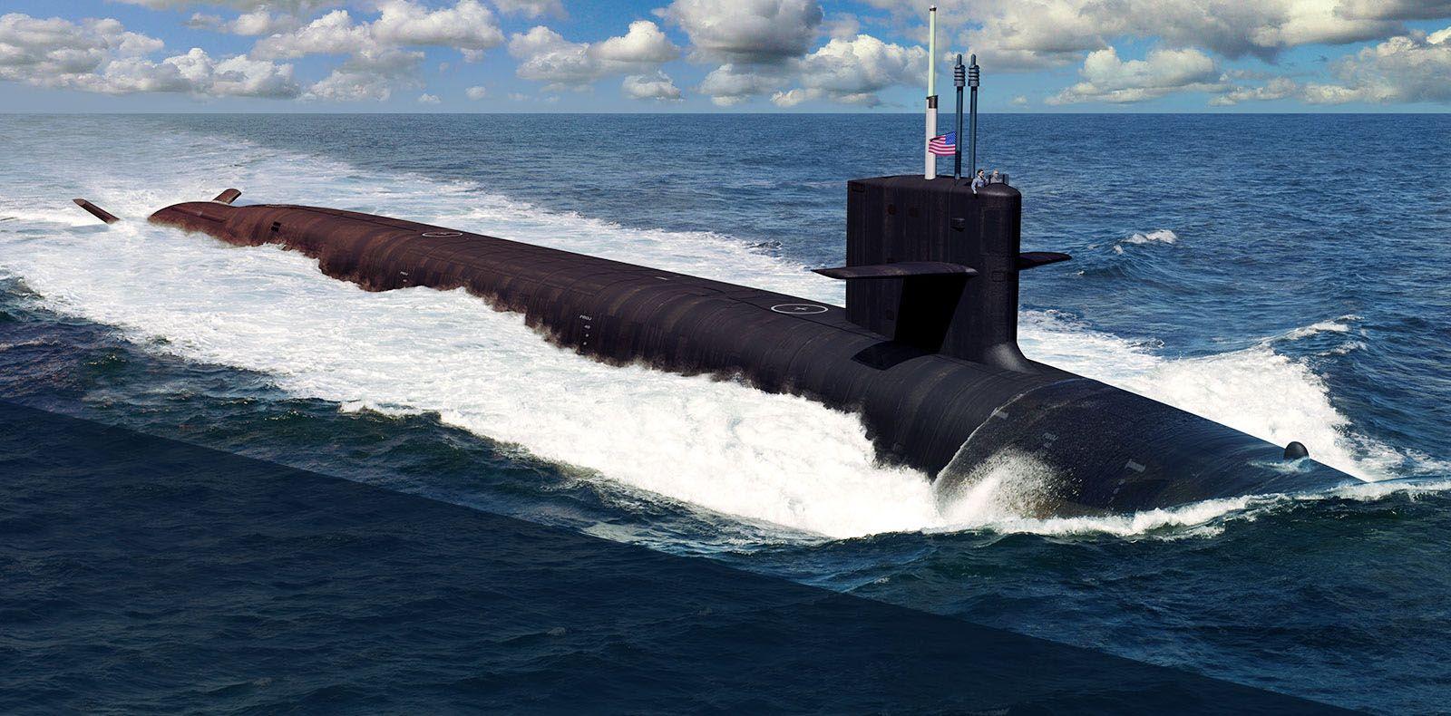 Columbia_class nuclear submarine