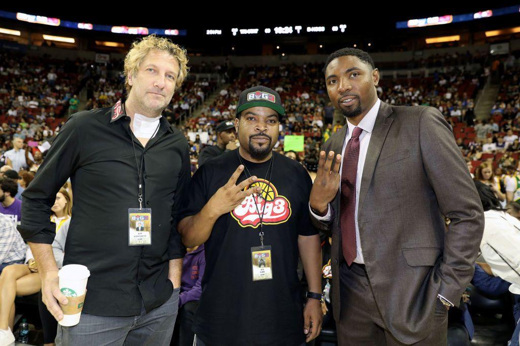 Kwatinetz, Ice Cube and Mason Jr.