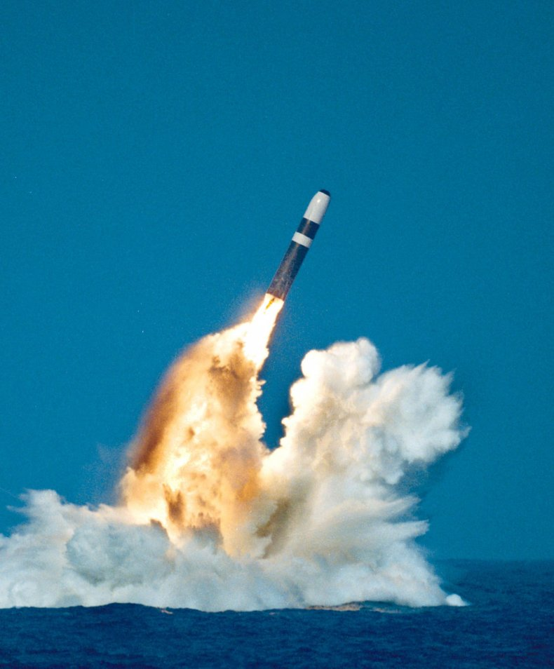 GettyImages-51102409 Trident missile