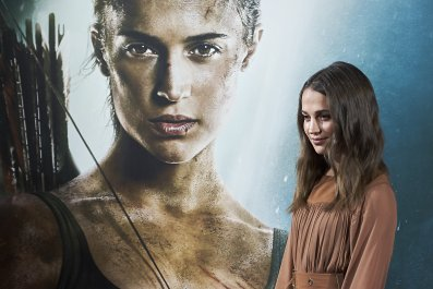 Alicia Vikander, 'Tomb Raider'