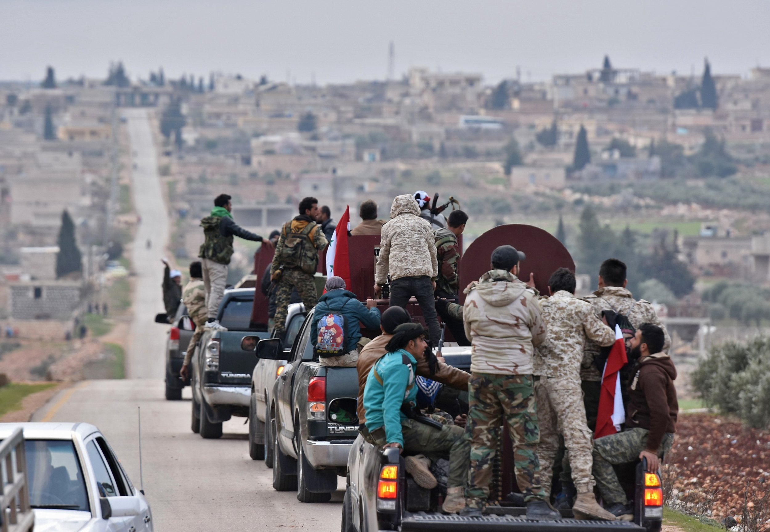 GettyImages-921418888 Pro-Syrian forces