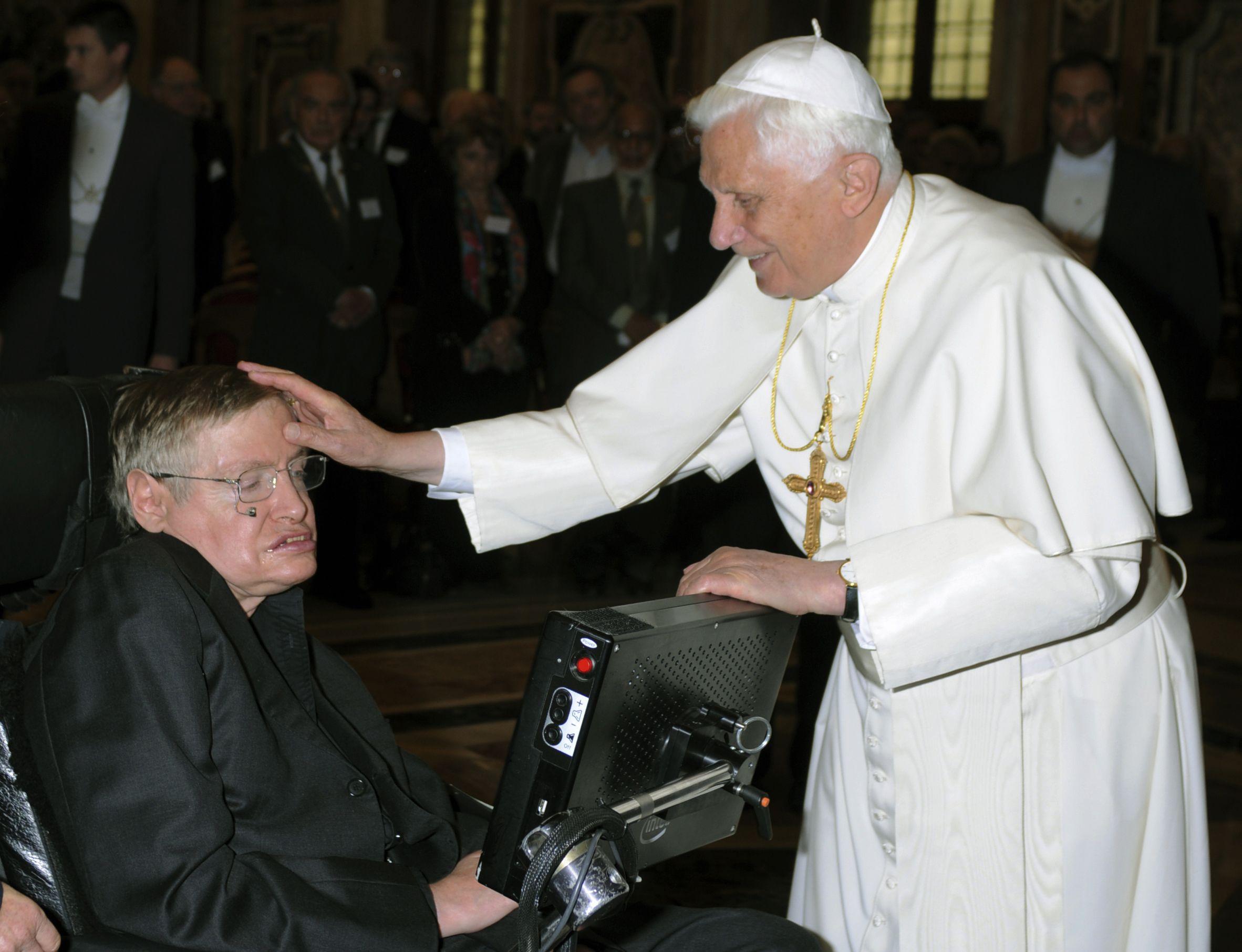 Stephen Hawking Papst