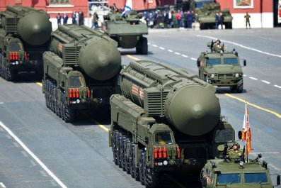 Yars RS-24 ICBM victory day moscow