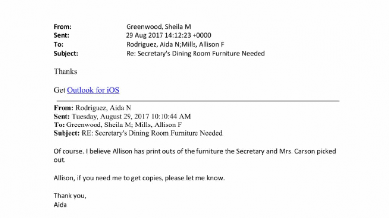 HUD email