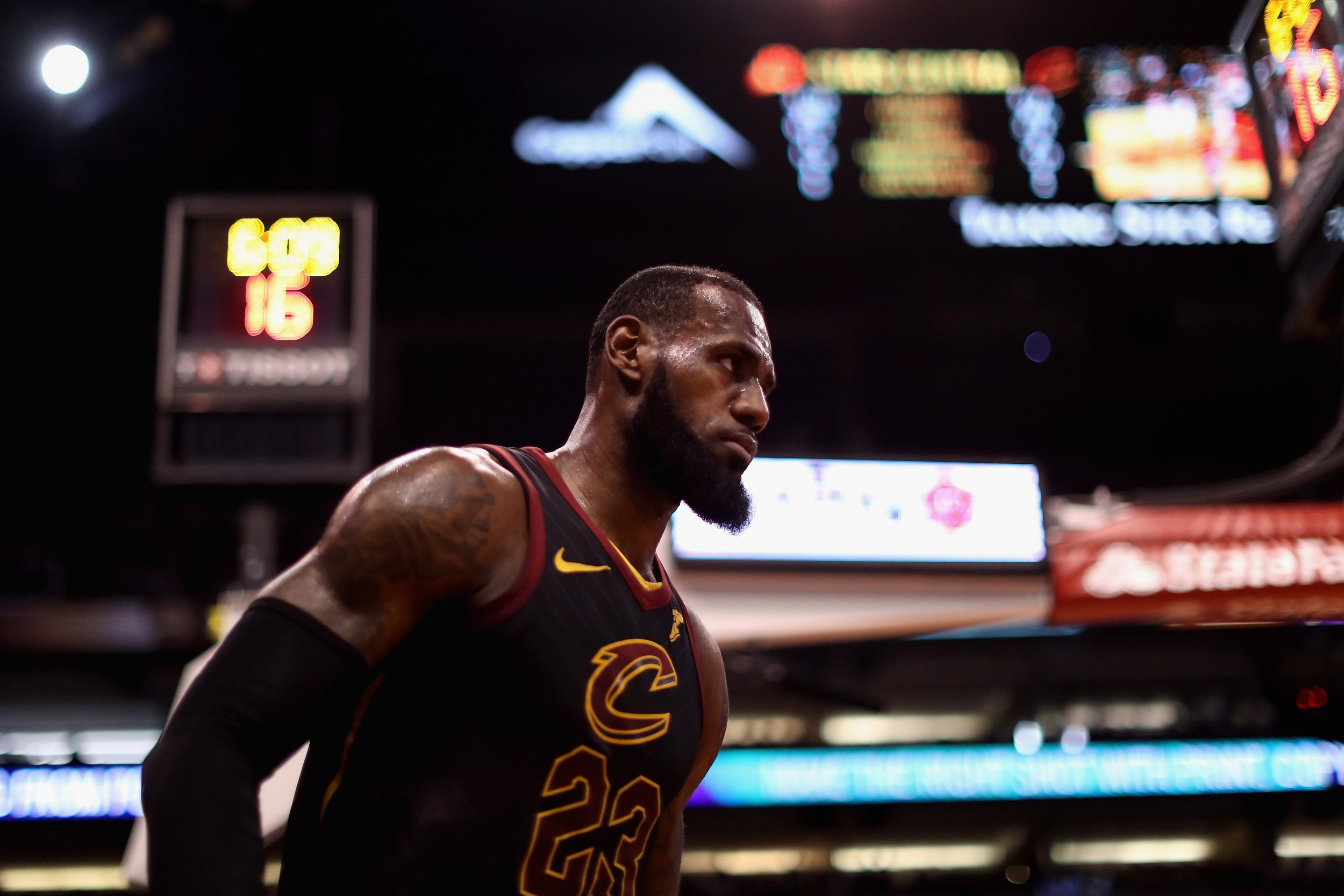the best attitude 19744 a29bc Lebron James Ages 'like Fine Wine', but Can He Reach New ...