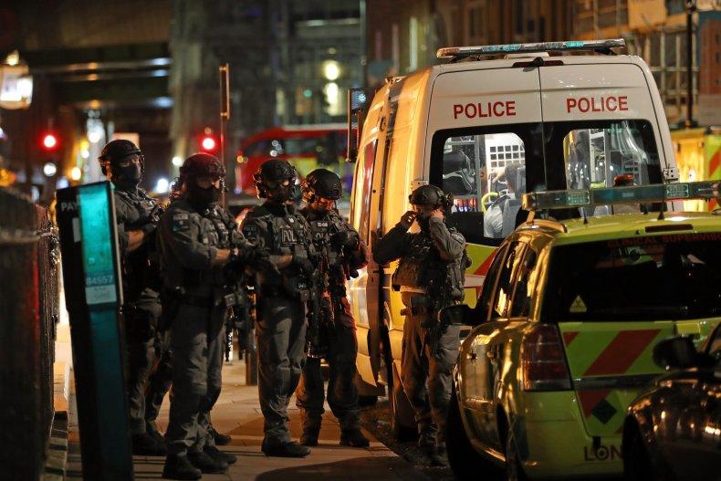 British counter-terror special forces London Bridge